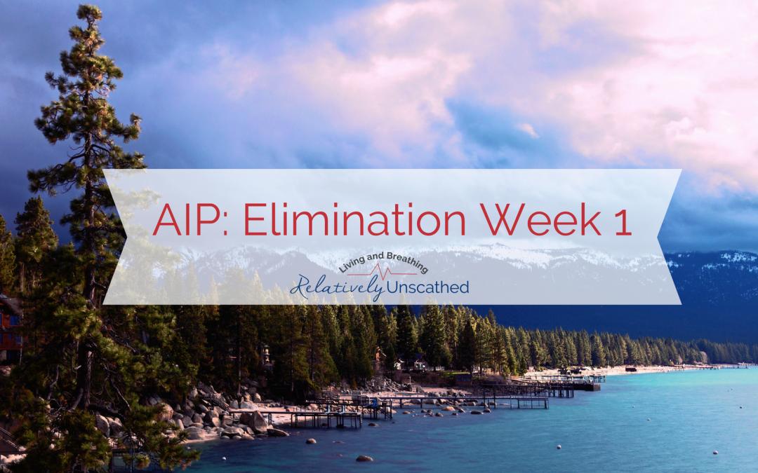 AIP Elimination Week 1