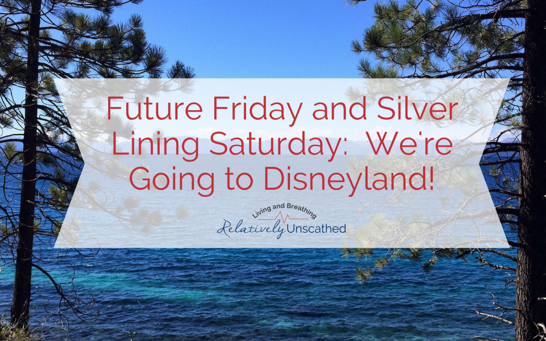 Future Friday and Silver Lining Saturday: We're Going to Disneyland!