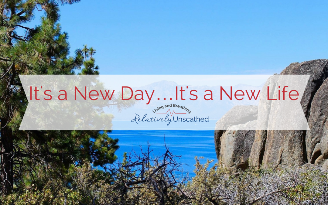 It's a New Day….It's a New Life